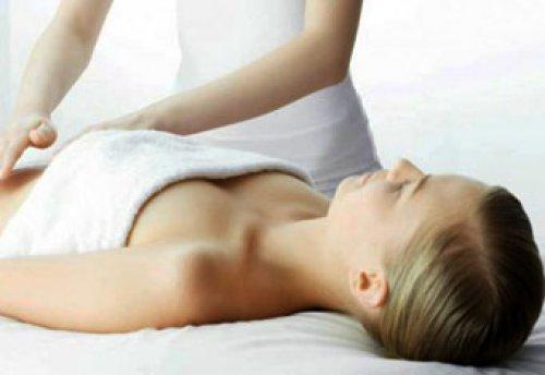 массаж убрать жир боков живота
