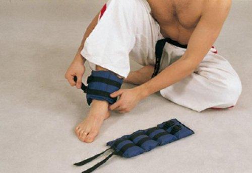 Как сделать самой утяжелители для ног
